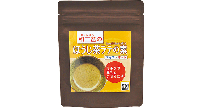ラテ ほうじ茶